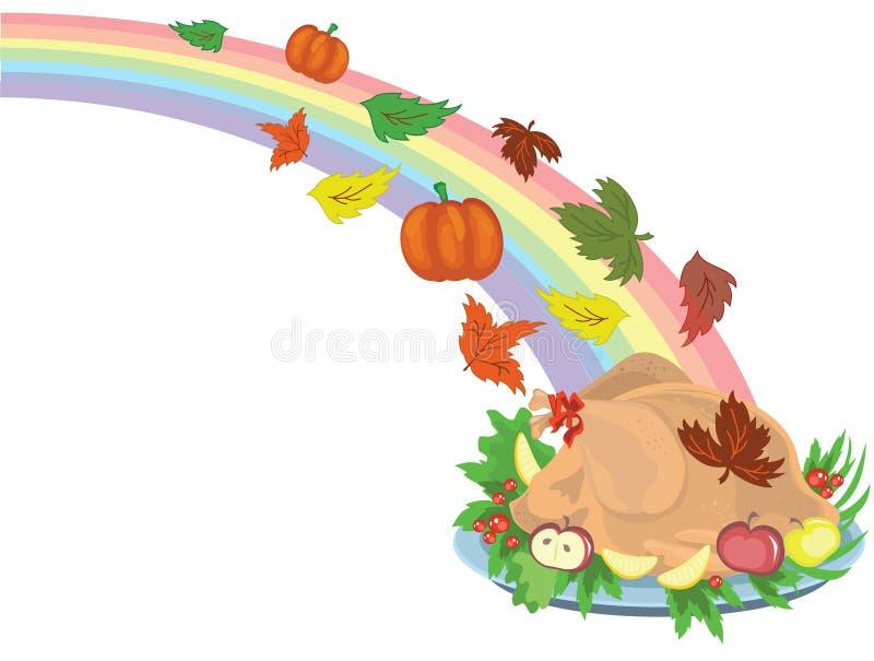 Thanksgiving day royalty free illustration
