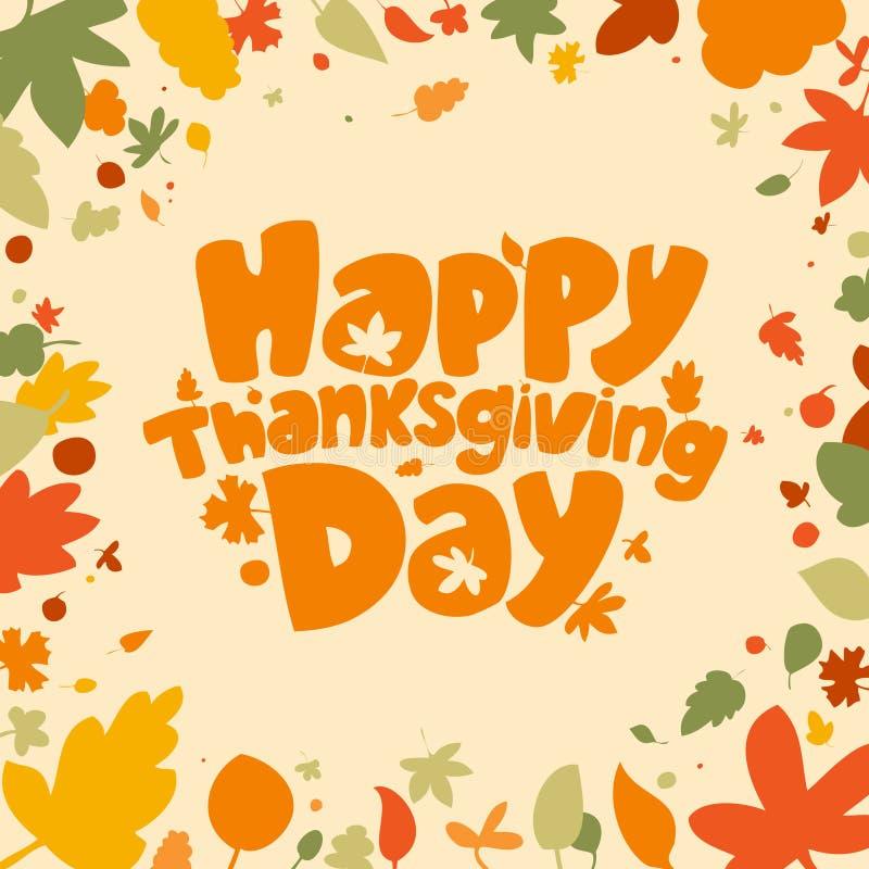 Thanksgiving Day. vector illustration