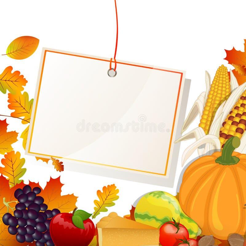 Thanksgiving day stock illustratie