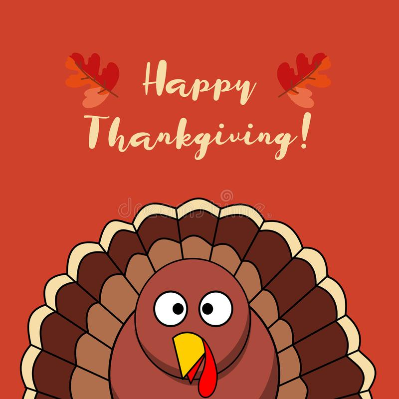 Thanksgiving Day background with turkey stock photos