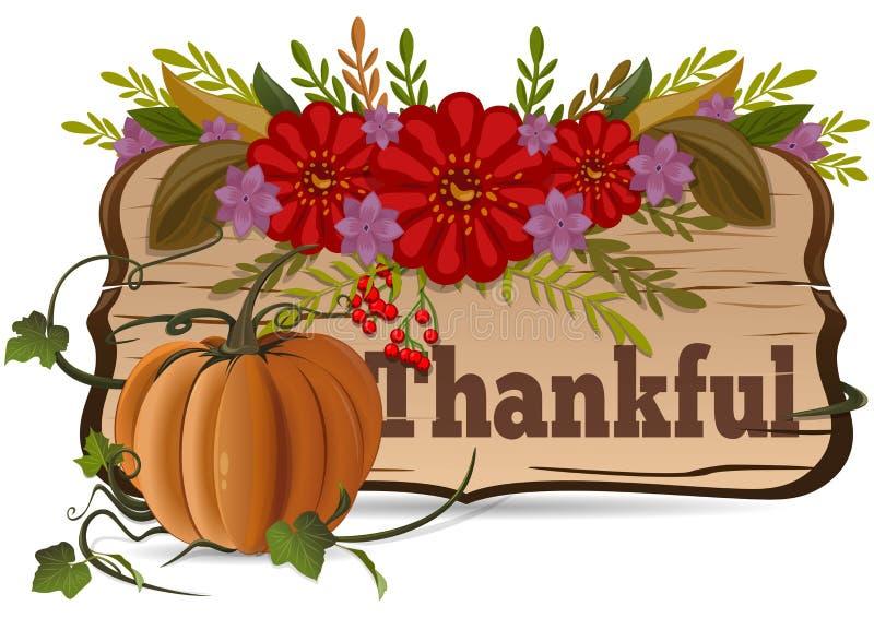 Thanksgiving day dankbaar De achtergrond van de herfst Rode en oranje het bladclose-up van de kleurenKlimop royalty-vrije illustratie