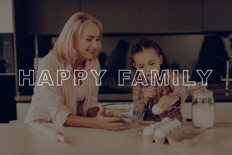 Thanksgiving day grootmoeder Gelukkige Familie royalty-vrije stock foto