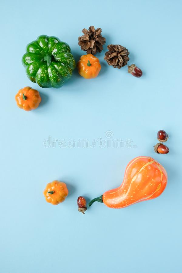 Thanksgiving day. Lettering thank with autumn elements. Thanksgiving concept, greeting card stock images