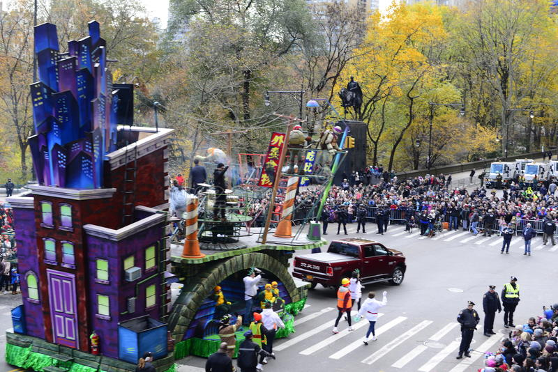 Thanksgiving Day Parade 2016 - New York City stock photo