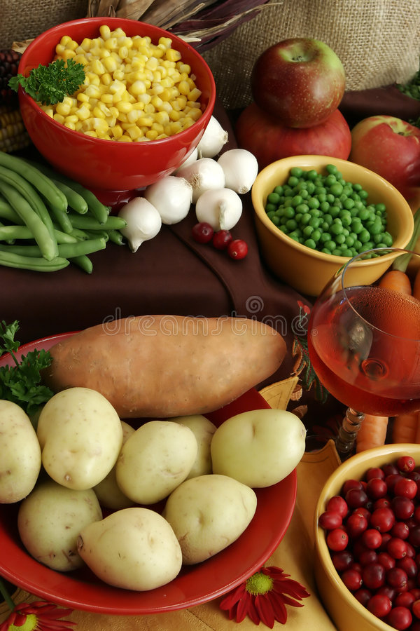 Thanksgiving Feast Royalty Free Stock Image