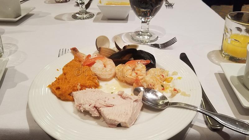 Thanksgiving feast royalty free stock photo
