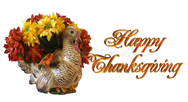 Thanksgiving Greeting Card Stock Photography