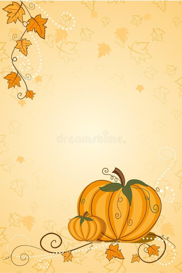 Download Thanksgiving Greeting Card - Pumpkin Stock Vector - Illustration: 15554141