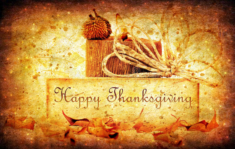 Thanksgiving holiday background stock image