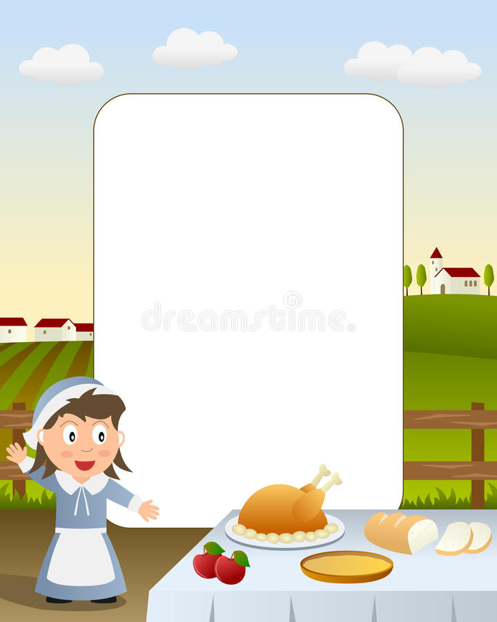 Free Thanksgiving Photo Frame [3] Royalty Free Stock Images - 16693339