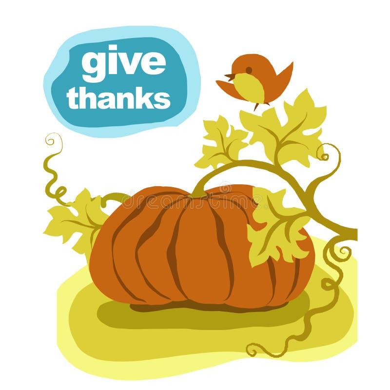 Download Thanksgiving pumpkin stock illustration. Image of thankful - 33439047