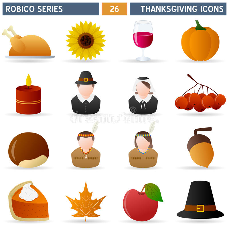 Download Thanksgiving - Robico Series Stock Vector - Image: 16741754