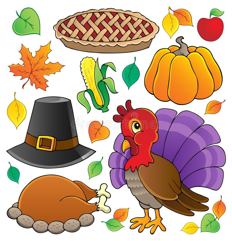 Thanksgiving theme collection 1. Vector illustration