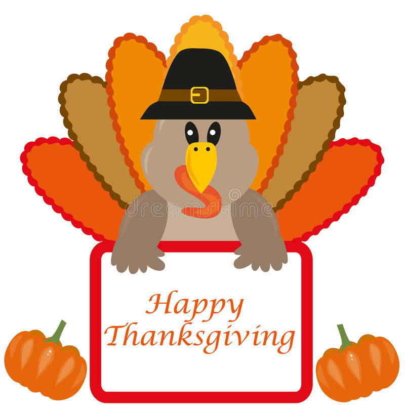 Thanksgiving turkey vector illustration