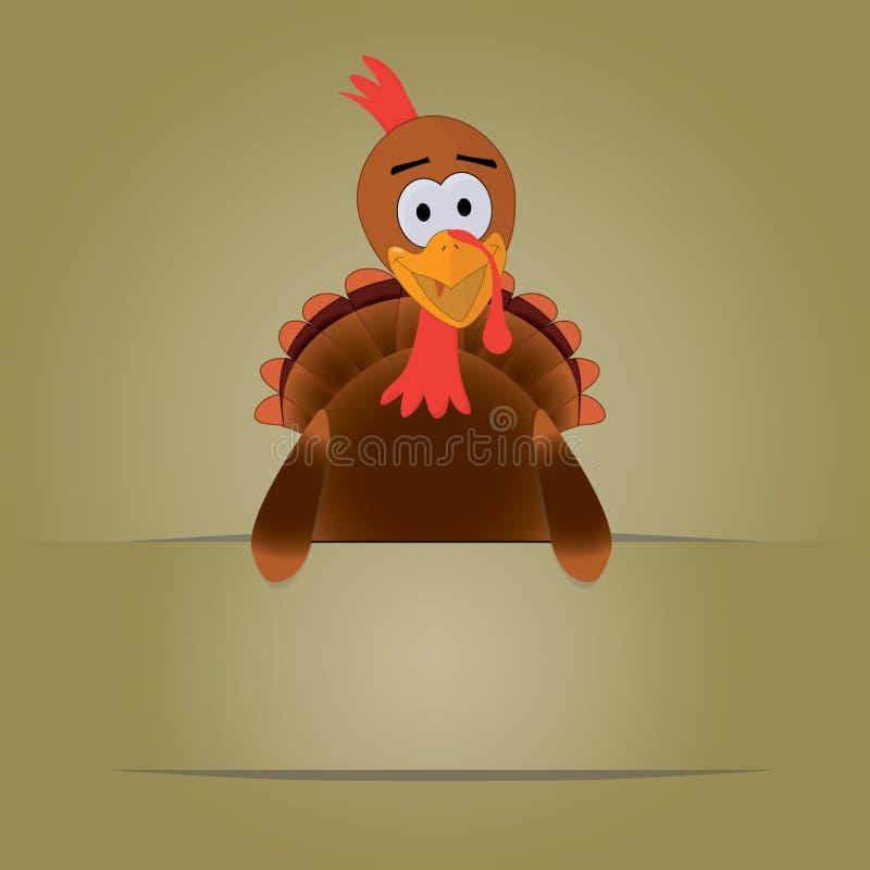 Thanksgiving Turkey with copyspace stock photos