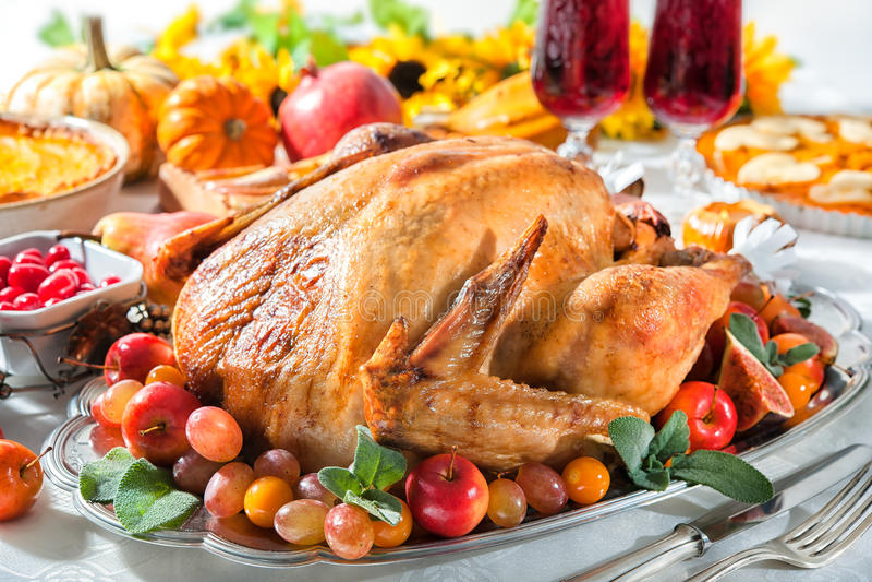 Thanksgiving turkey royalty free stock photo