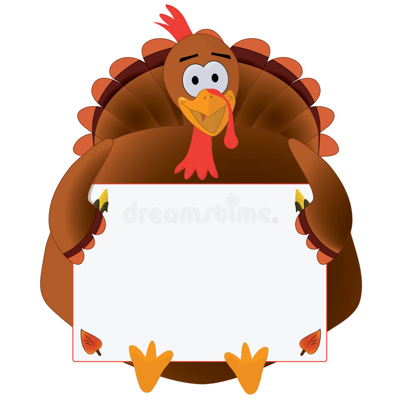 Free Thanksgiving Turkey With Copyspace Stock Photos - 34483673