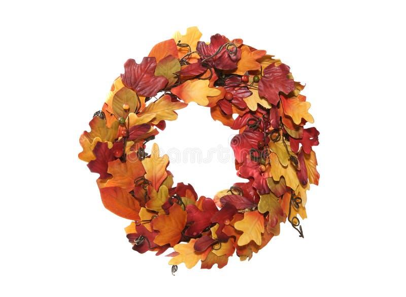 Thanksgiving Wreath royalty free stock image