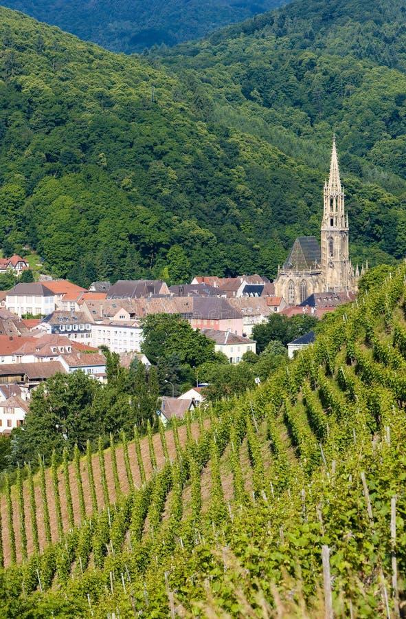 Thann, Alsace photo libre de droits