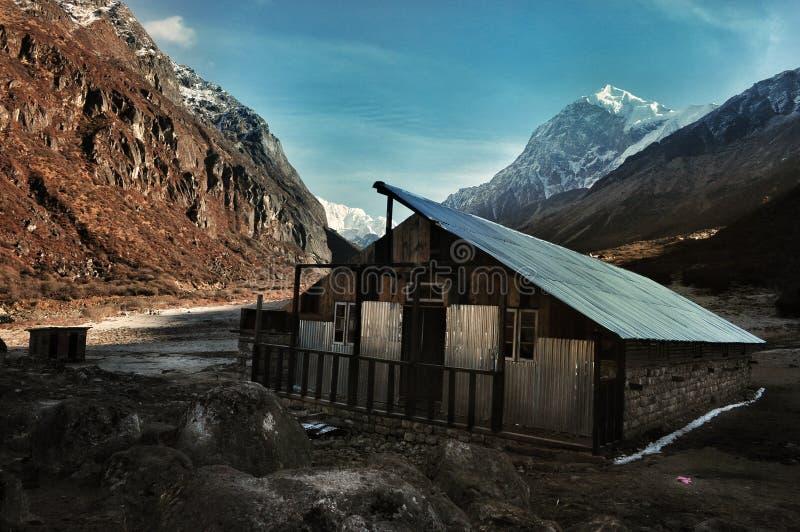 Thansing: de vallei van vrede stock afbeelding
