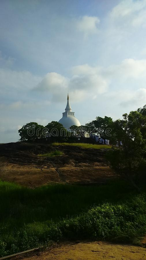 Thanthirimale Chaithya Sri Lanka foto de archivo libre de regalías