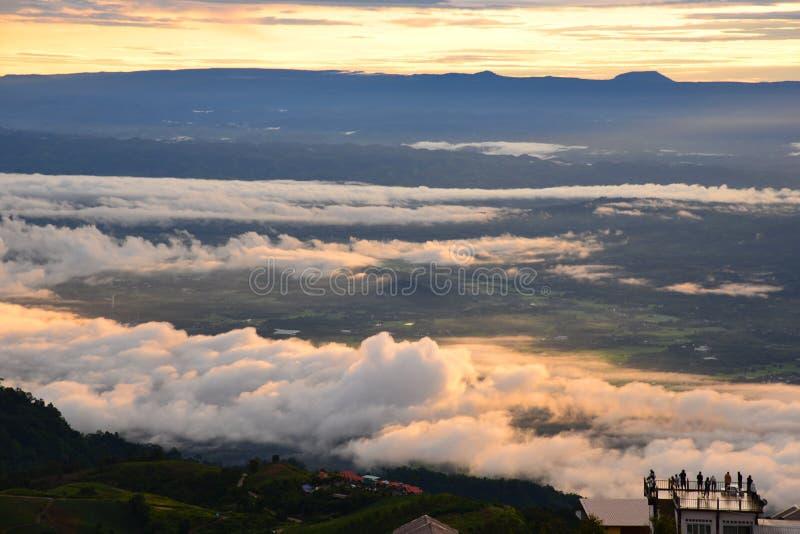 Thap Boek góra obraz royalty free