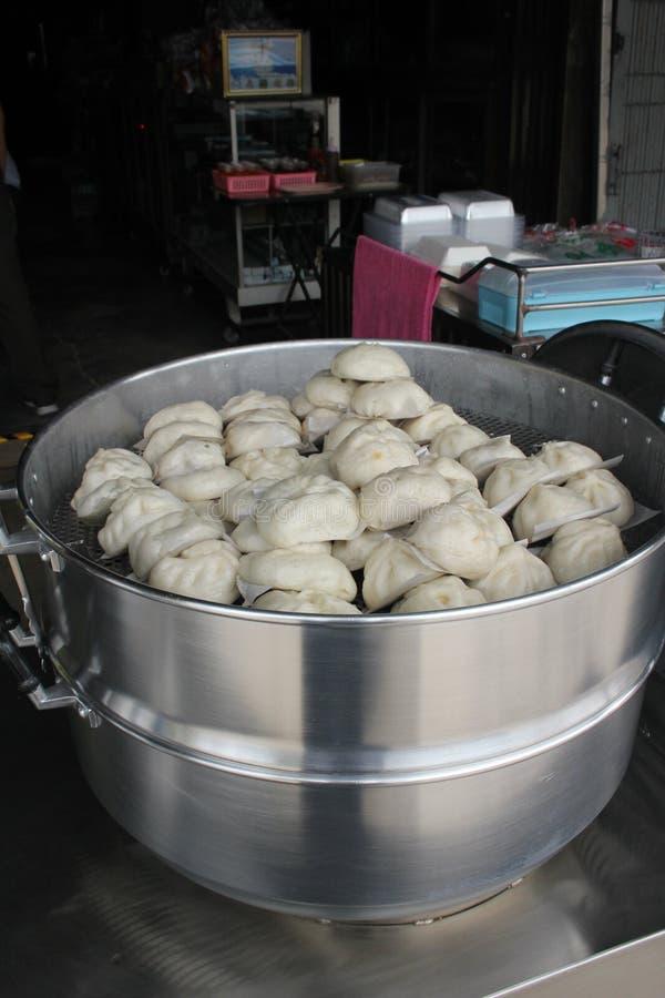 Thap Lee Steamed Buns en la provincia de Ranong foto de archivo libre de regalías