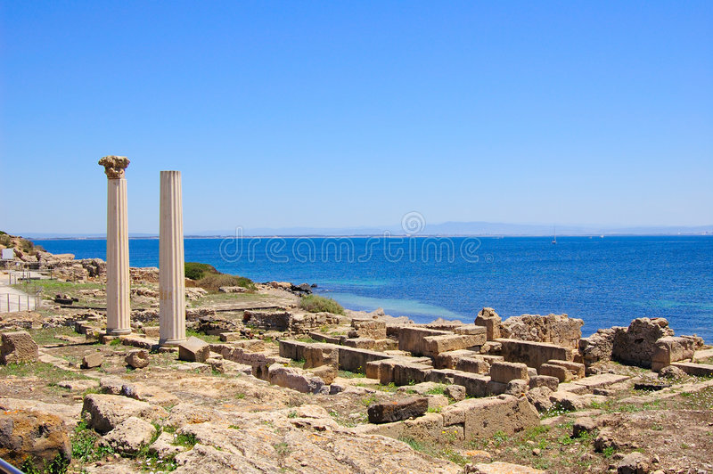 Tharros images stock