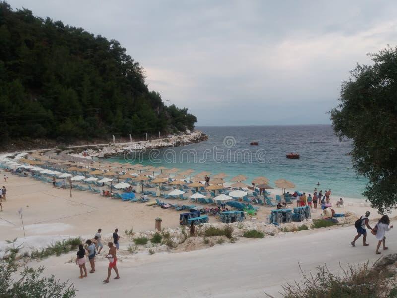 Thassos de la Grèce d'été photo stock