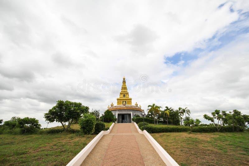 Thatbyinnyutempel, Bagan, Myanmar, oude templeBeautiful tempel bij de Provincie van Nong Bua Lamphu, Thailand stock afbeelding