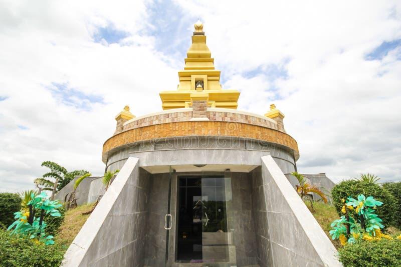 Thatbyinnyutempel, Bagan, Myanmar, oude templeBeautiful tempel bij de Provincie van Nong Bua Lamphu, Thailand royalty-vrije stock foto