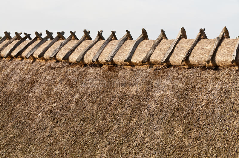 Thatch royalty free stock photo