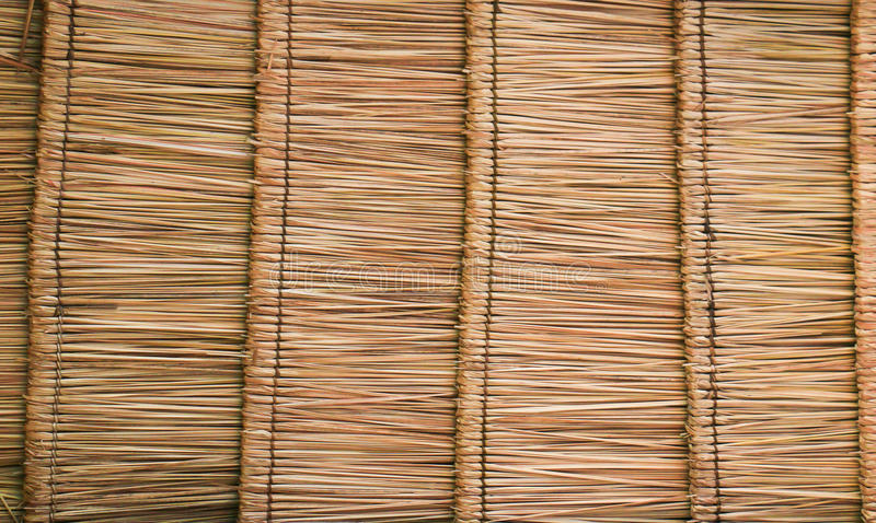 Thatch roof texture. Abstract thatch roof texture or background stock photography
