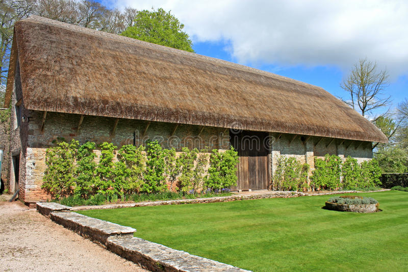 Thatched Barn royalty free stock image