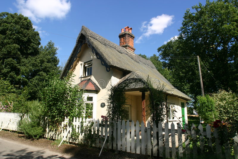Thatched Cottage 2 royalty free stock photos