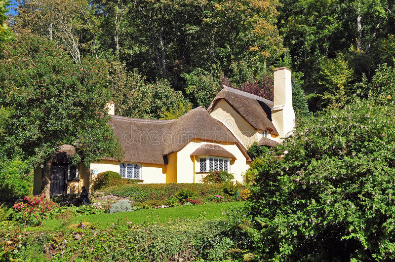 Download Thatched cottage stock image. Image of cottages, traditional - 24335865