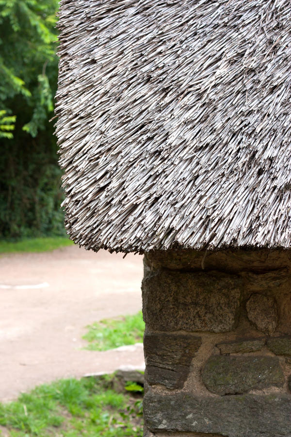 Download Thatched cottage stock photo. Image of cottage, wall - 25810322