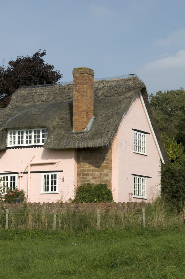 Download Thatched cottage stock image. Image of cottages, england - 7587815