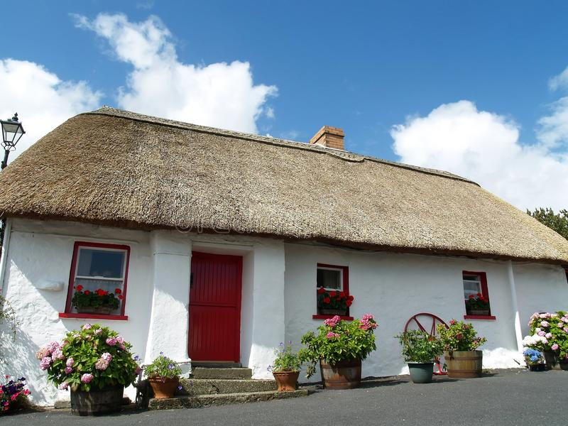 Download Thatched Cottage In Ireland Stock Photo - Image: 10324422