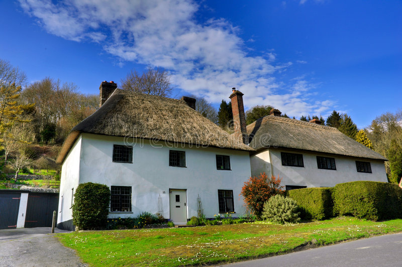 Download Thatched Cottages Royalty Free Stock Images - Image: 8945869