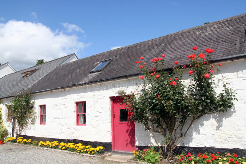 Thatched House, Ireland royalty free stock photos