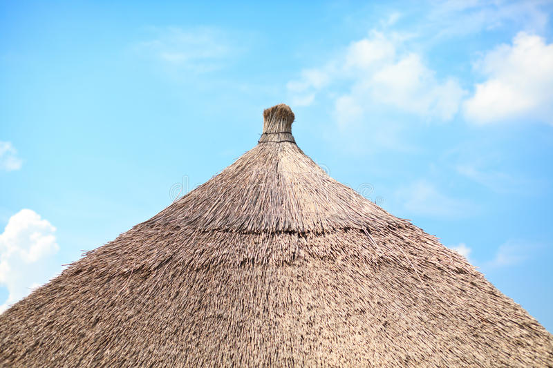 Download Thatched roof stock image. Image of natural, nature, shelter - 25246657