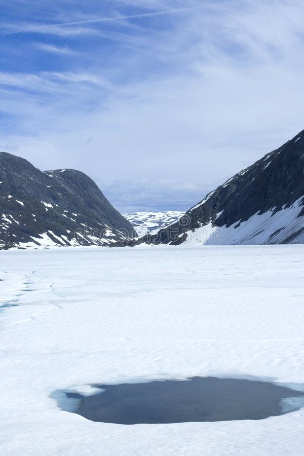 Download Thawing lake stock image. Image of travel, color, water - 4835495