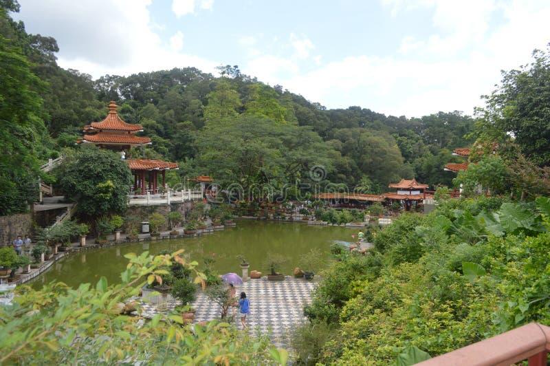 ThChina botanische tuin royalty-vrije stock fotografie