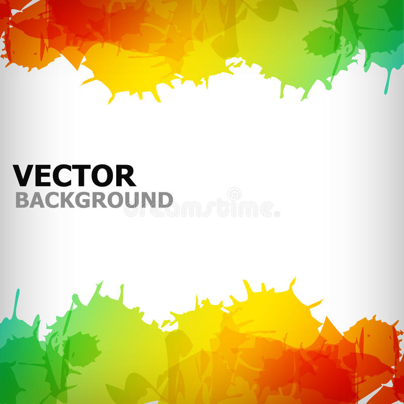 Free The Abstract Blot Colorful Background Royalty Free Stock Photos - 18652638
