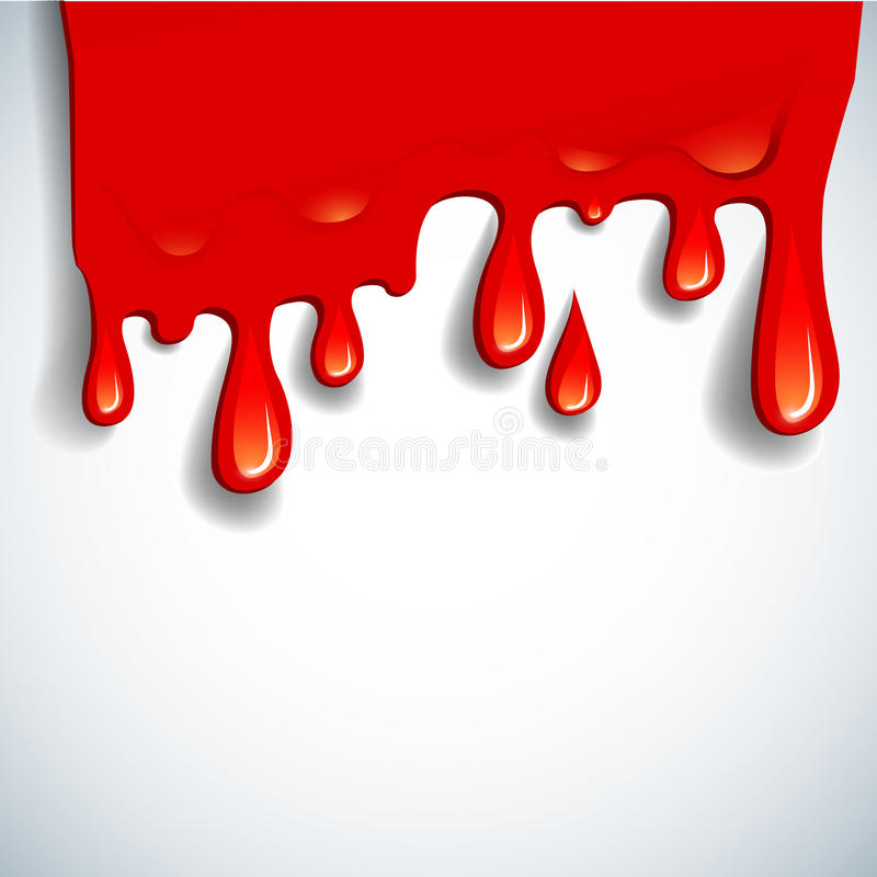 Free The Abstract Vector Blood Background Royalty Free Stock Photo - 21312735