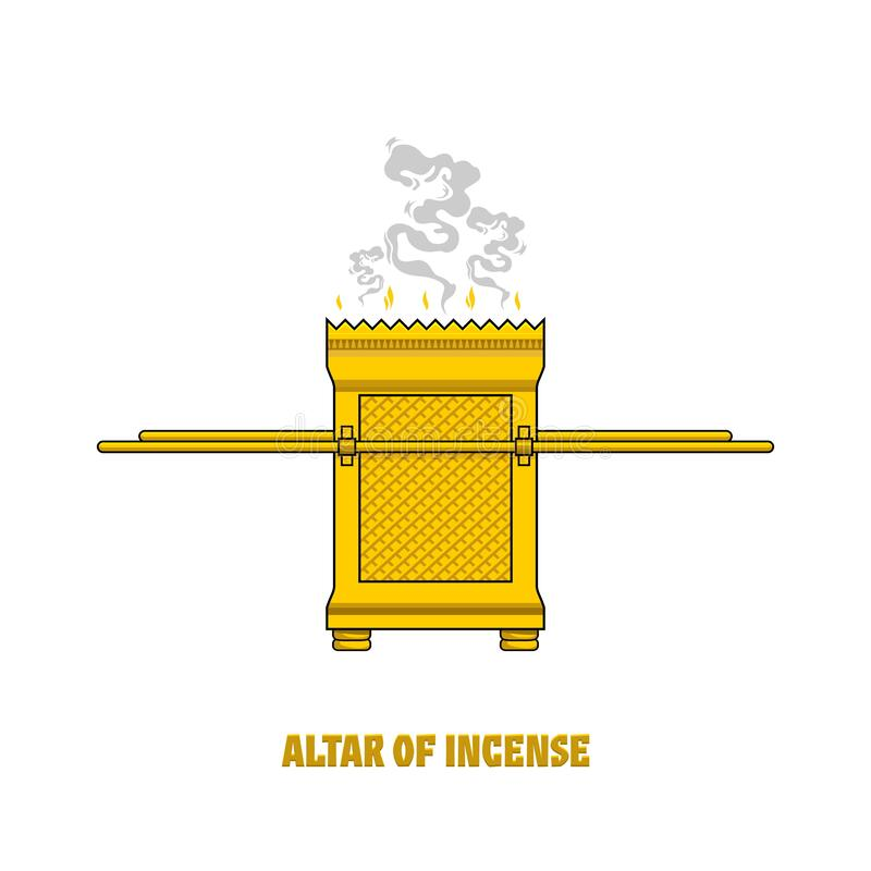 Free The Altar Of Incense, Installed In The Tabernacle And Temple Of Solomon. A Ritual Object In The Rites Of The Jewish Religion Royalty Free Stock Image - 181778246