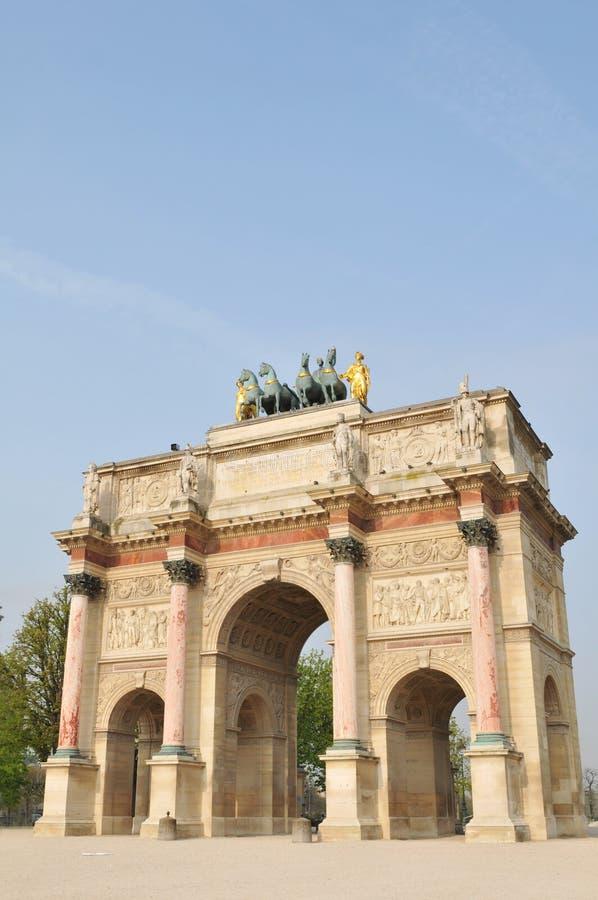 Free The Arc De Triomphe Du Caroussel Stock Photos - 19013713