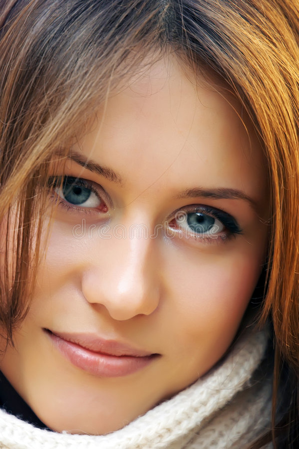 Free The Attractive Young Girl Royalty Free Stock Images - 2675689
