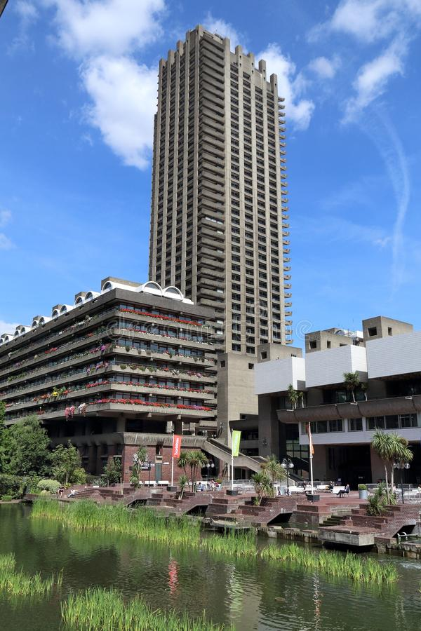 Free The Barbican Estate Stock Photography - 127058392